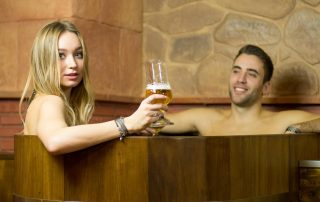 Spa para parejas Beer Spa