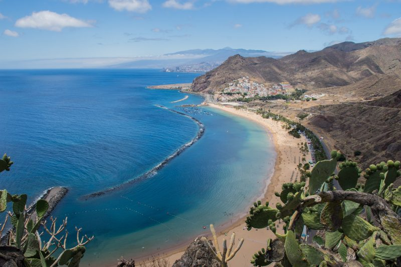 beaches in Tenerife